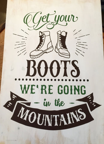 Get Your Boots on