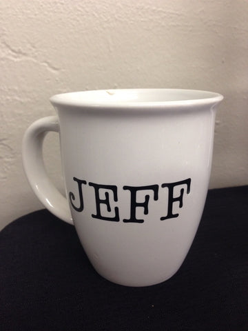 Personalized Name coffee cup