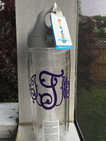 Personalized Tervis Water Bottle 24 oz