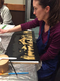 1/5/2020-Private Workshop - The Original Beer and Boards Custom Sign Painting Party - A. Henkel