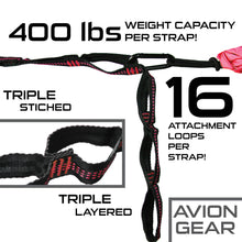 Avion Gear - Camping Double Hammock - Red