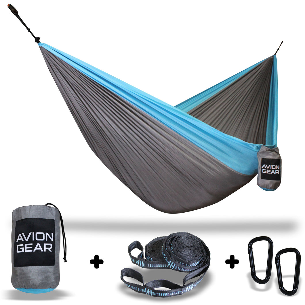 Avion Gear - Camping Double Hammock - Blue