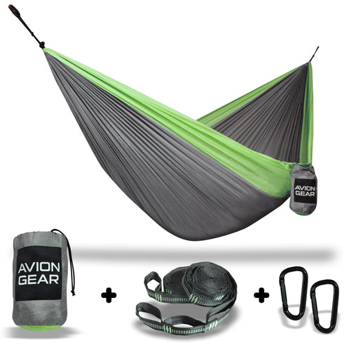 Avion Gear - Camping Double Hammock - Green