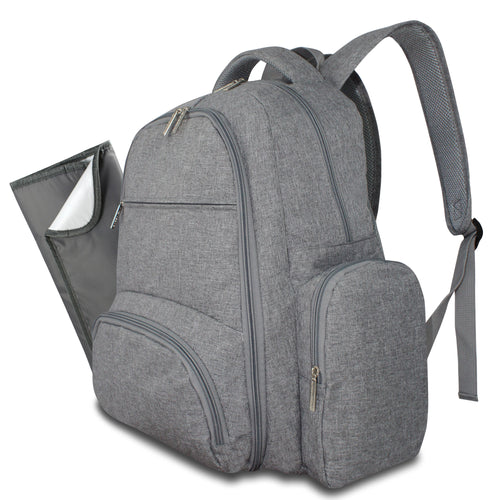 Avion Gear Diaper Backpack - Grey