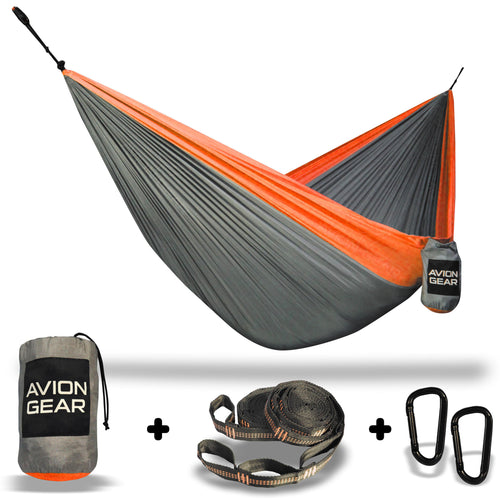 Avion Gear - Camping Double Hammock - Orange