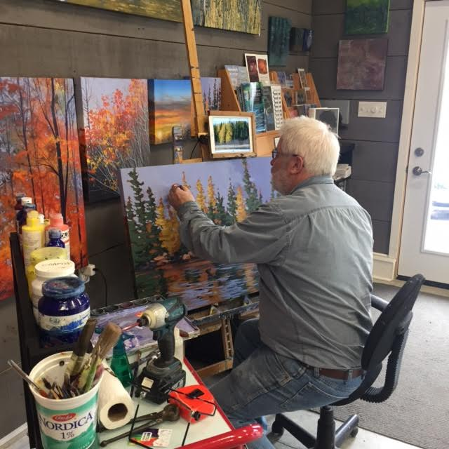 Peter John Reid Painting Classes at 14 Bells