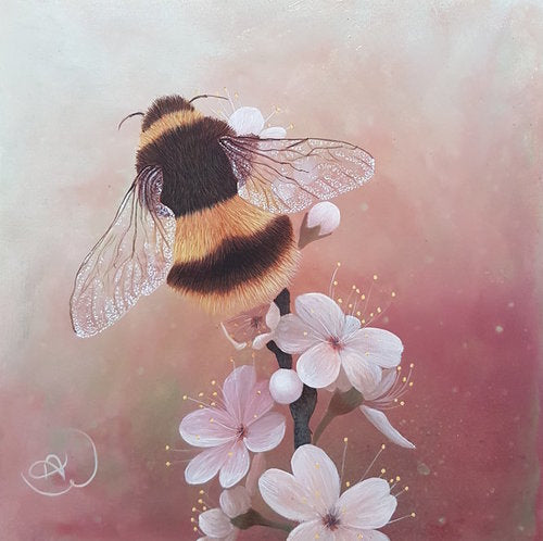 Spring Blossoms (Bee Series)