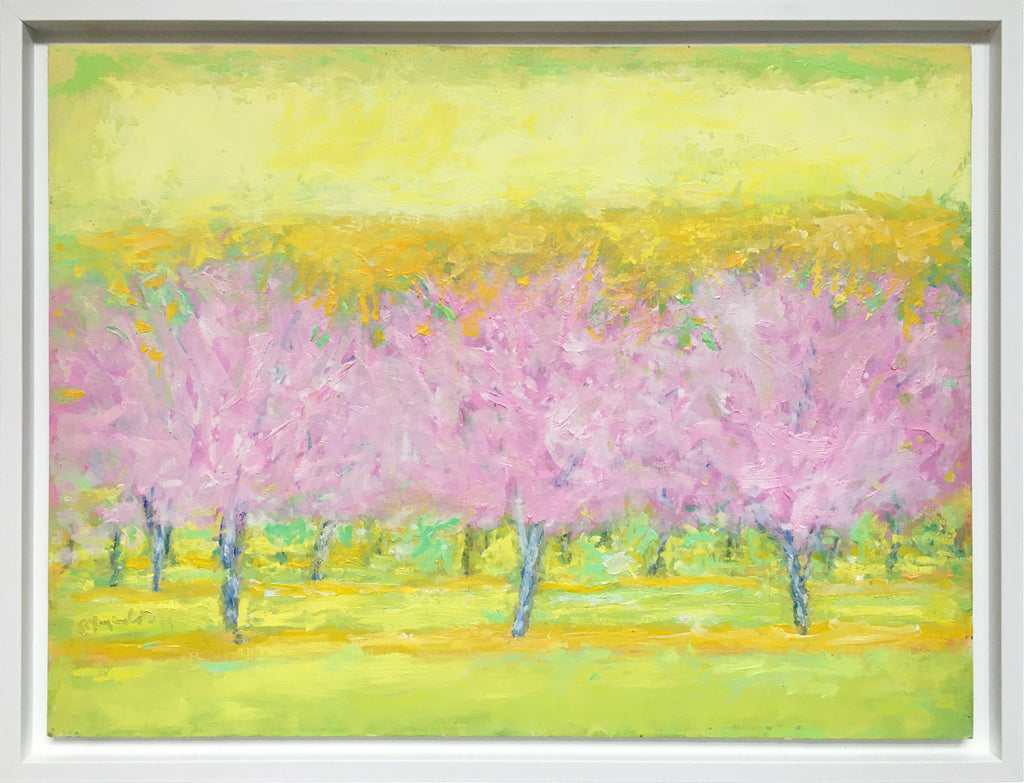 Orchard in Pink and Yellow