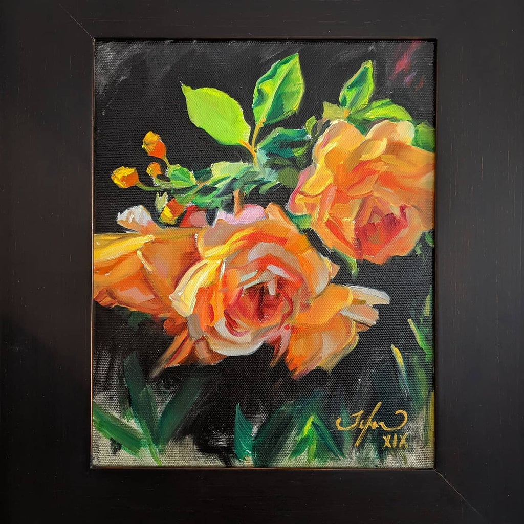 oil-painting-of-yellow-roses-by-canadian-artist-Tylor-McNeil