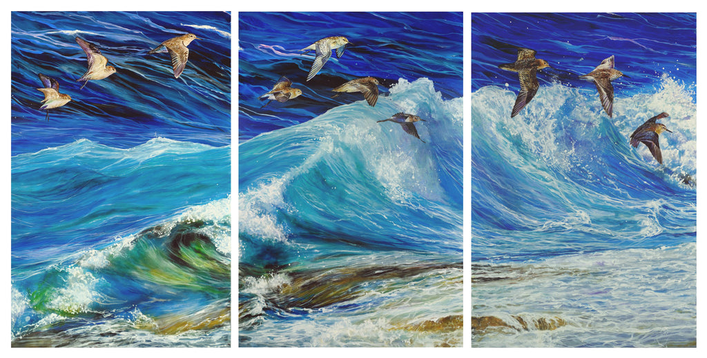 Stem the Tide (triptych)