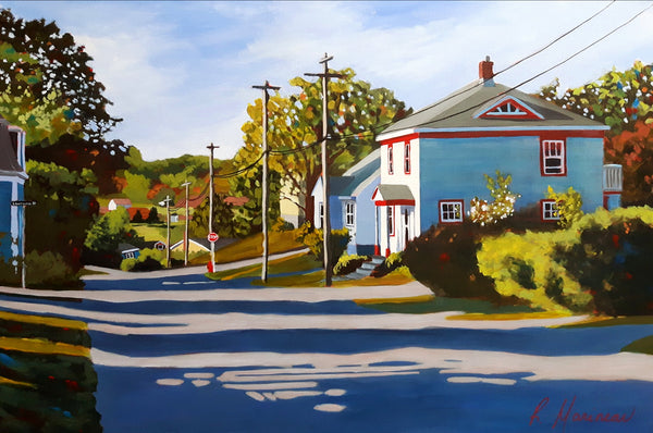 Prince Street Morning (Lunenburg)