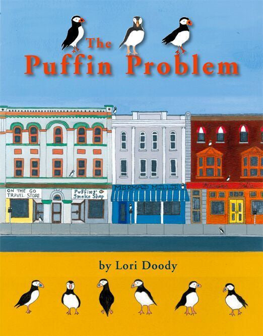 Front cover of Newfoundland artist Lory Doody's children's book