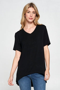 Betty Basic Tee - Black - Tucker Brown