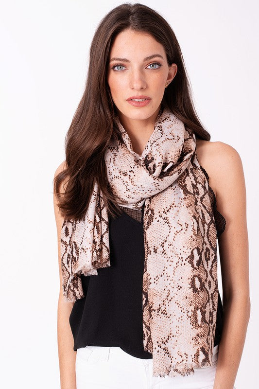 Python Scarf - Brown - Tucker Brown