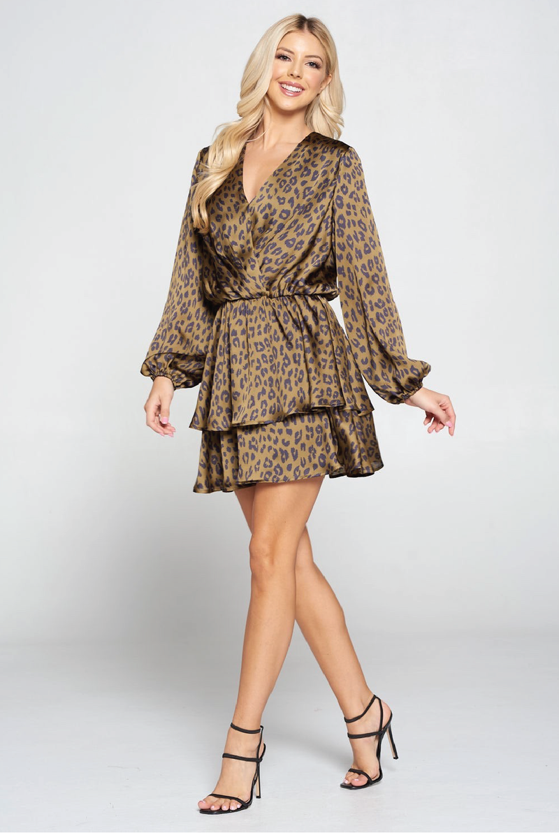 Jungle Lady Dress - Olive - Tucker Brown
