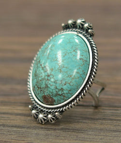 Cruces Ring - Turquoise - Tucker Brown