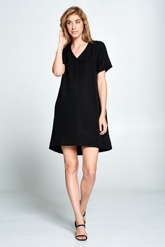 Until Tomorrow Shift Dress - Black - Tucker Brown