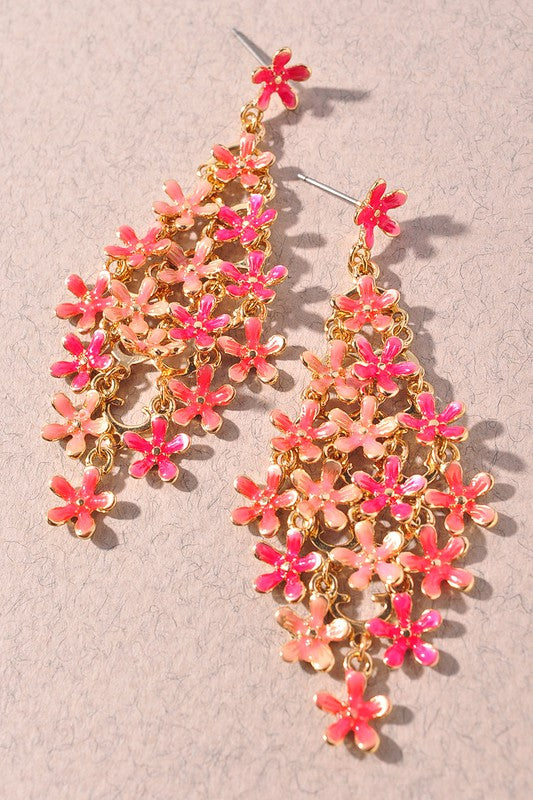 Sugarbushes Earring - Pink - Tucker Brown