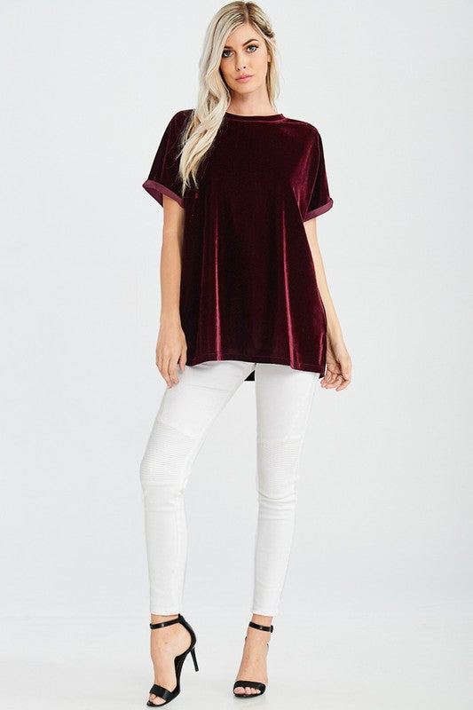 Rockin' Around Velvet Top