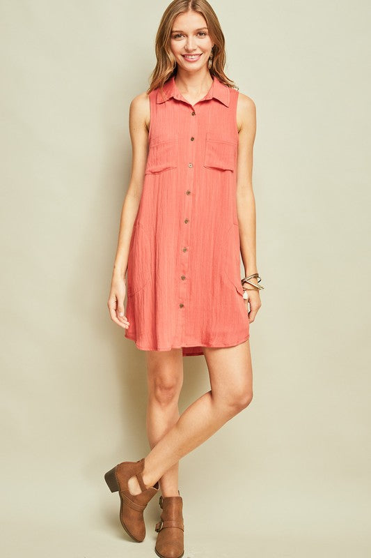 Prairie Sunset Dress - Tucker Brown