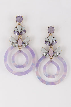 Secret Garden Earring - Tucker Brown