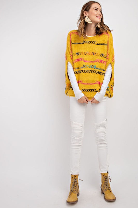 Dazed Maisy Sweater - Mustard - Tucker Brown