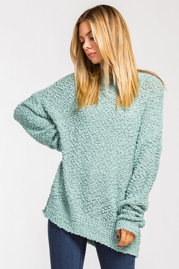 Monterey Pullover - Aqua - Tucker Brown