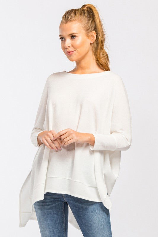 All Around Babe Top - White - Tucker Brown