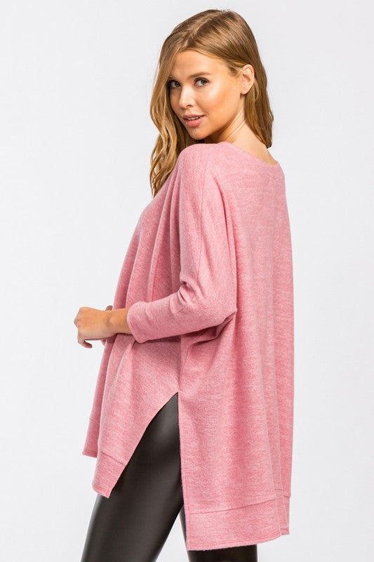 All Around Babe Top — Pink - Tucker Brown