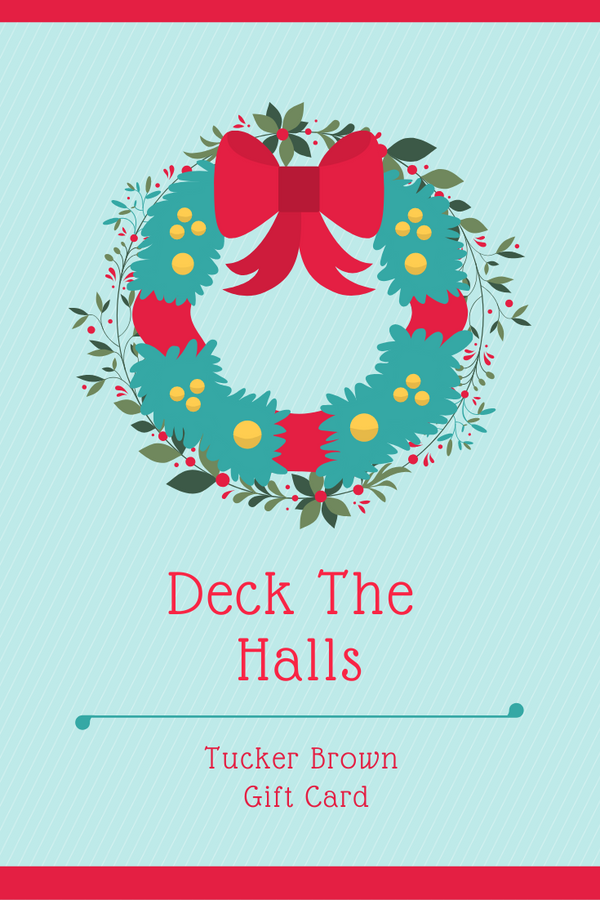 Deck The Halls Gift Card