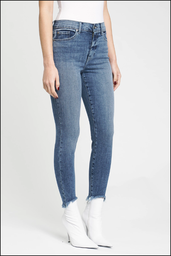 Venice Breeze Frayed Jean - Denim - Tucker Brown