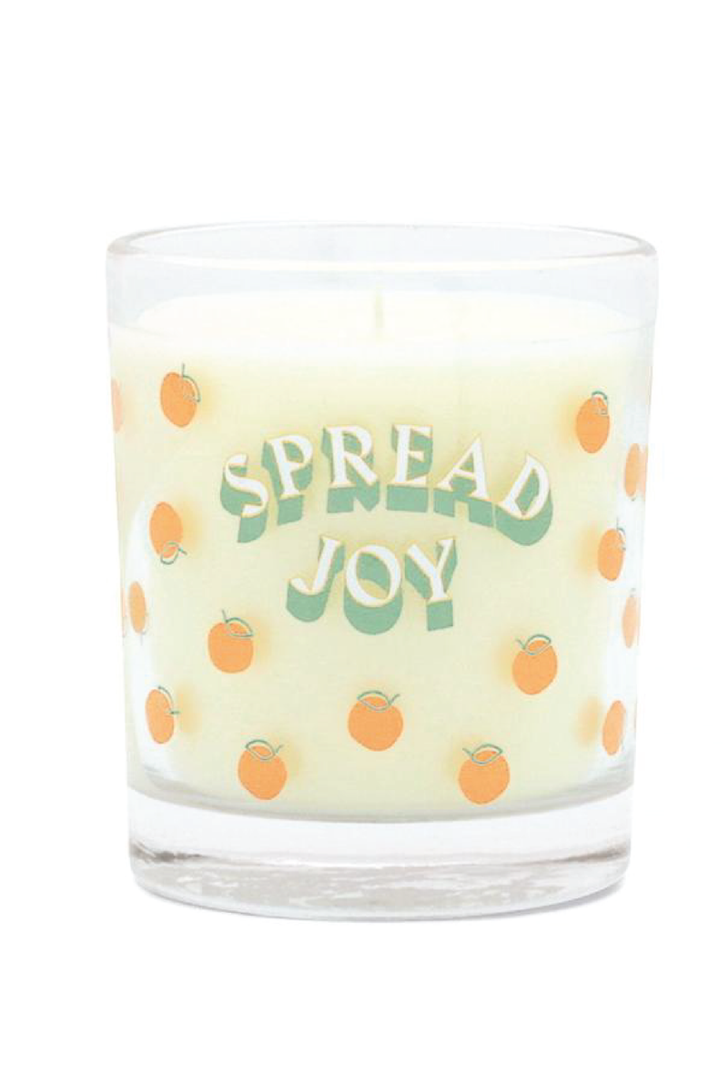 Spread Joy Candle - Tucker Brown