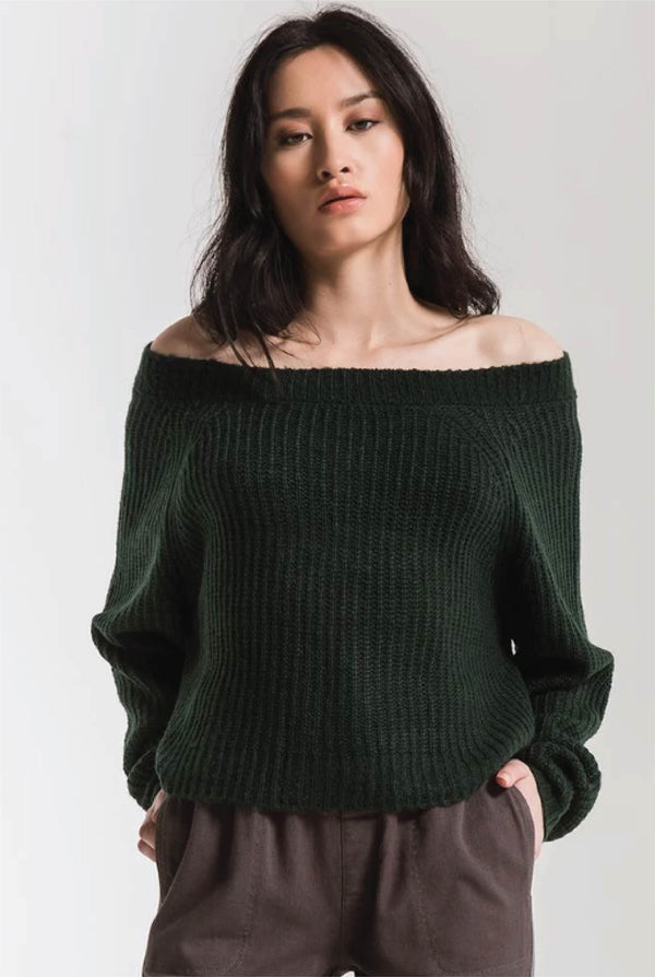 Bergen Knit Sweater - Tucker Brown