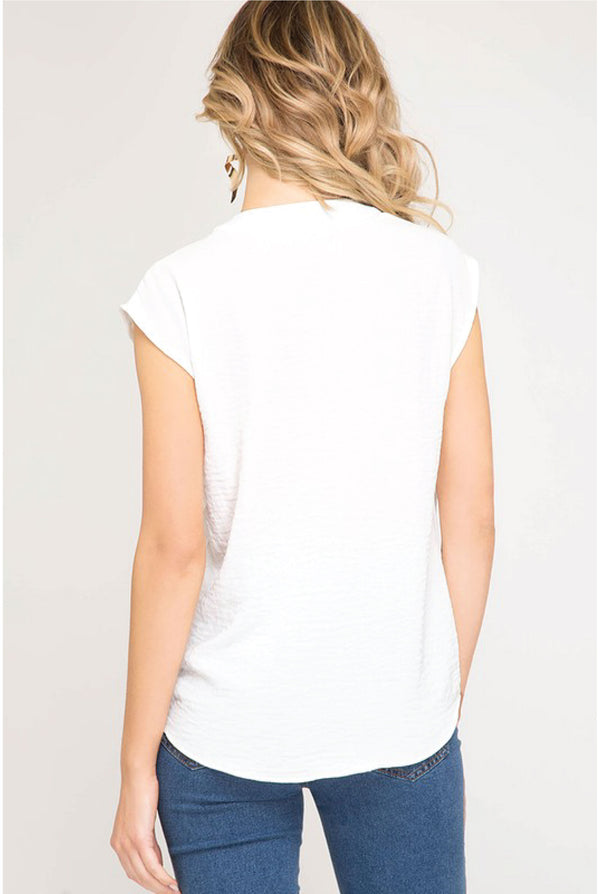 Winnie Lane Top - White - Tucker Brown
