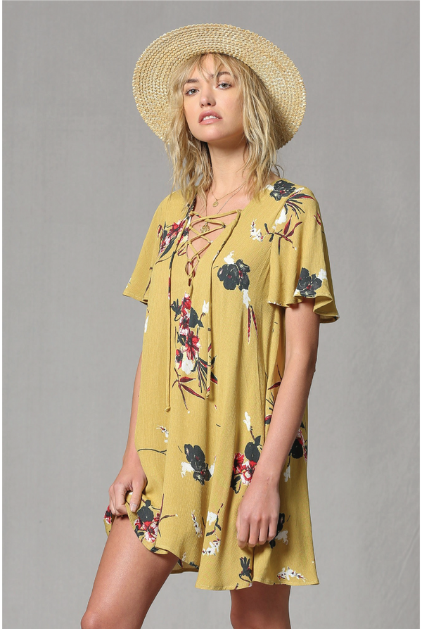 Byron Bay Floral Dress