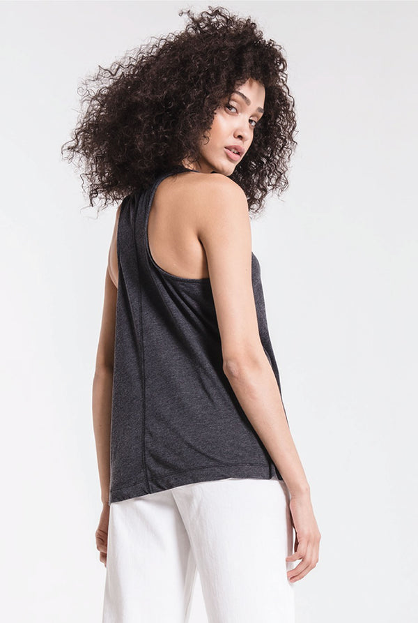 The City Tank - Black - Tucker Brown