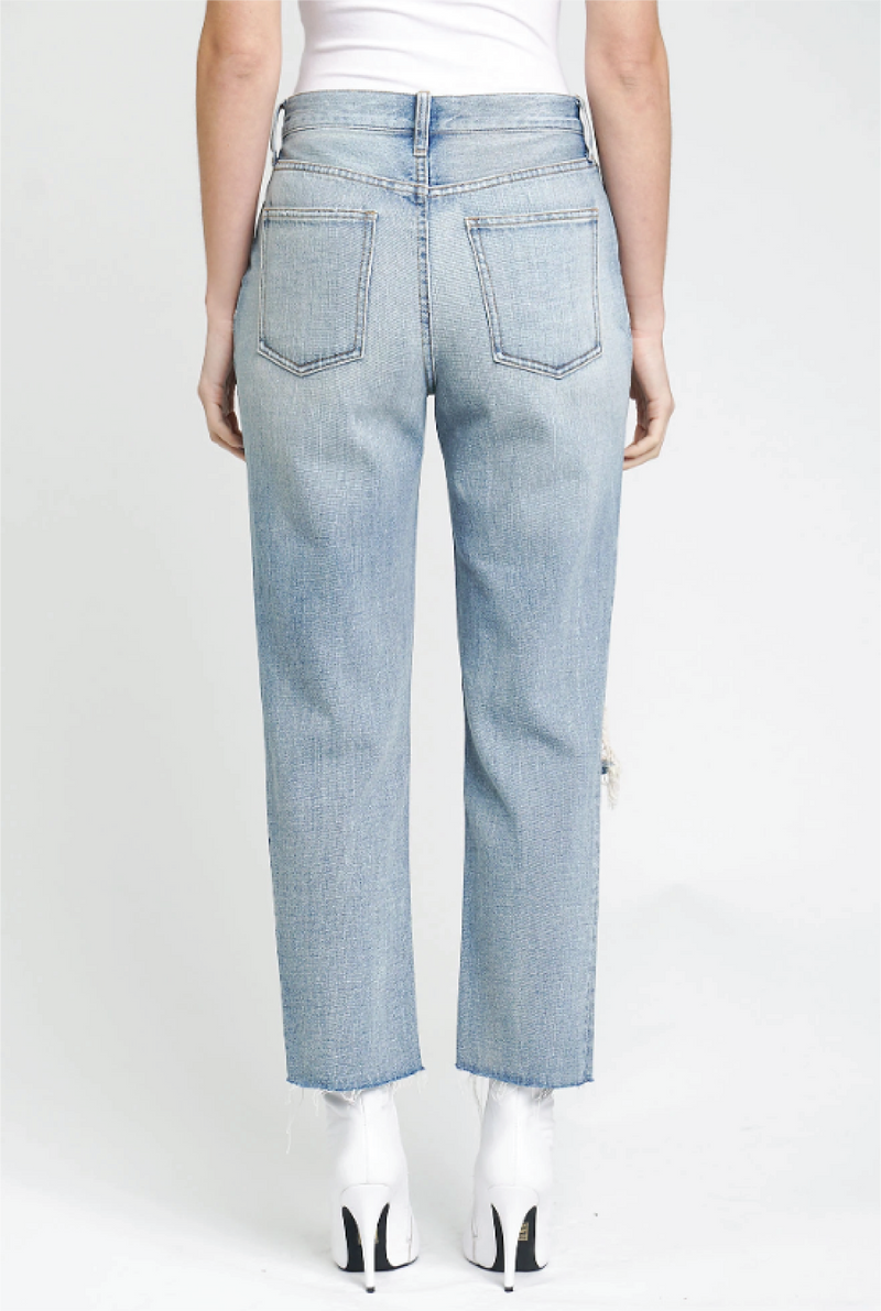 Charlie Straight Leg Jean - Denim - Tucker Brown