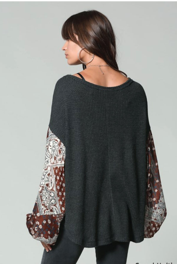 Boho Goddess Bell Sleeve Top