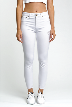 White Lies High Rise Jean