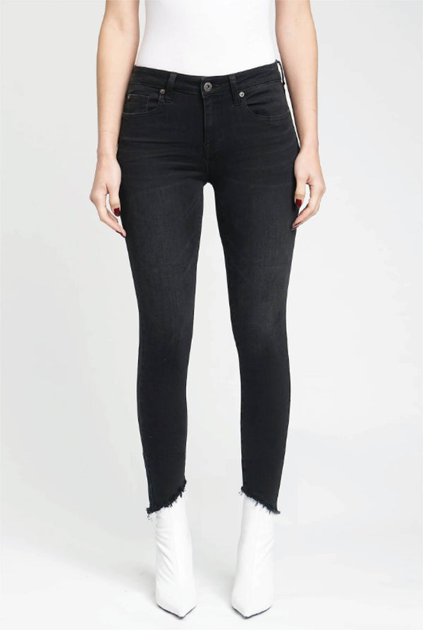 Jet Set Black Skinny Jean - Black - Tucker Brown