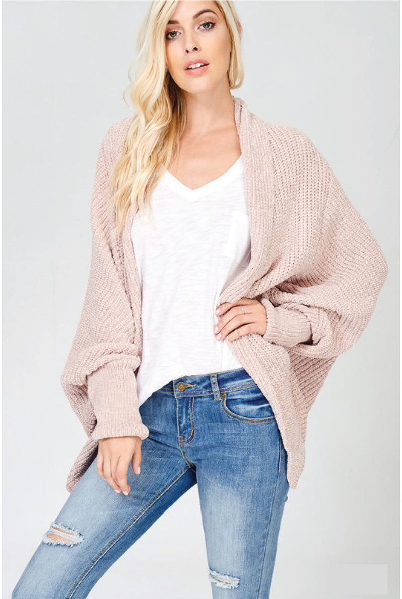 Ginger and Spice Cardigan - Tucker Brown