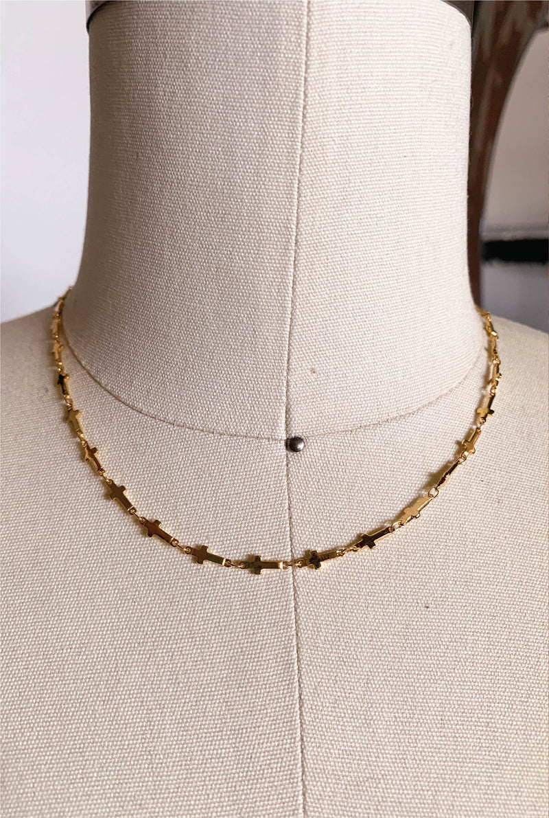 Trinity Choker - Gold - Tucker Brown
