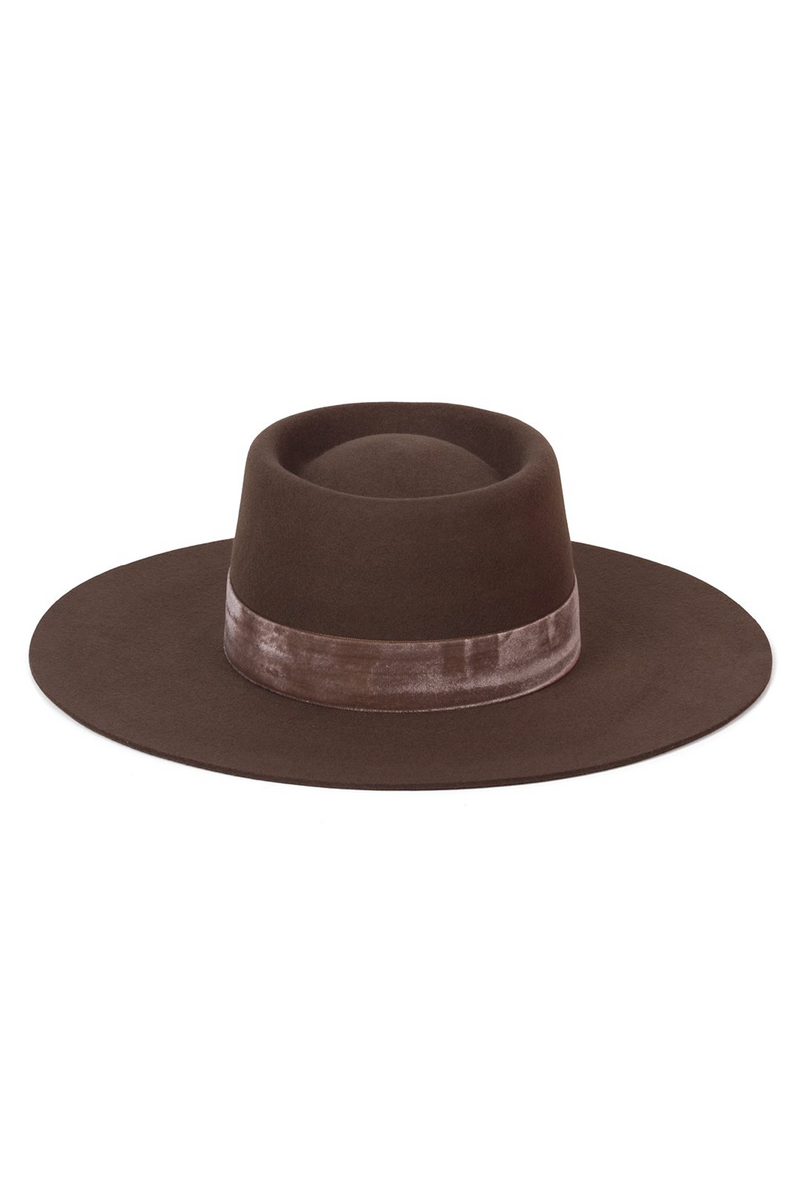 Juno Boater Hat - Tucker Brown