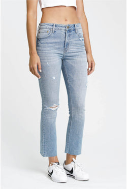 Illusionist High Rise Crop Jean