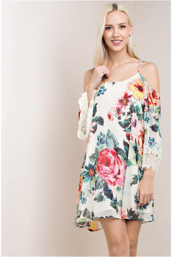 Buy Me Flowers Dress - Tucker Brown
