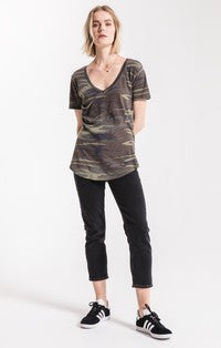 The Camo Pocket Tee - Camo Green - Tucker Brown