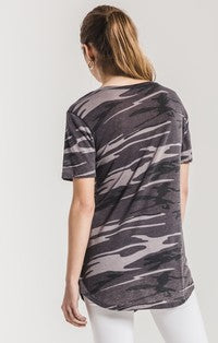 Camo Pocket Tee - Camo Black - Tucker Brown