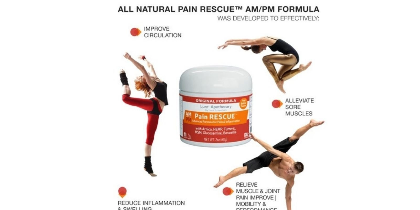 Pain Rescue – A New Path to Instant Relief - Lure Essentials