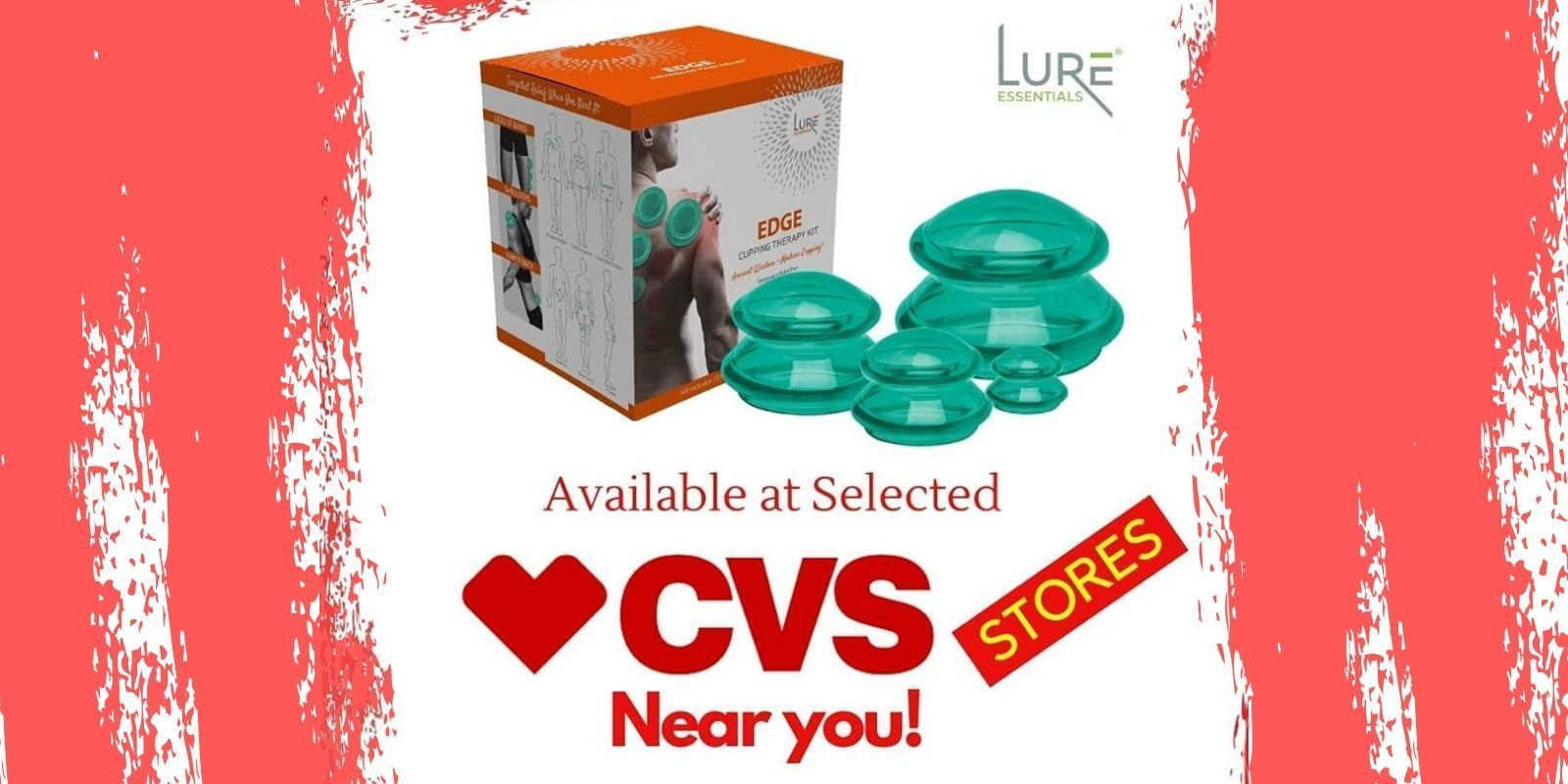 Lure Essentials Takes Cupping Therapy Mainstream with Launch at CVS Stores - Lure Essentials