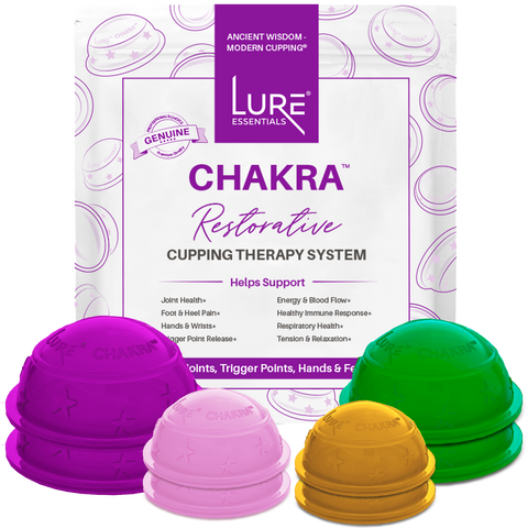 chakra lure essentials silicone cupping set